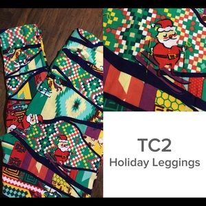 New TC2 Lularoe Holiday Leggings